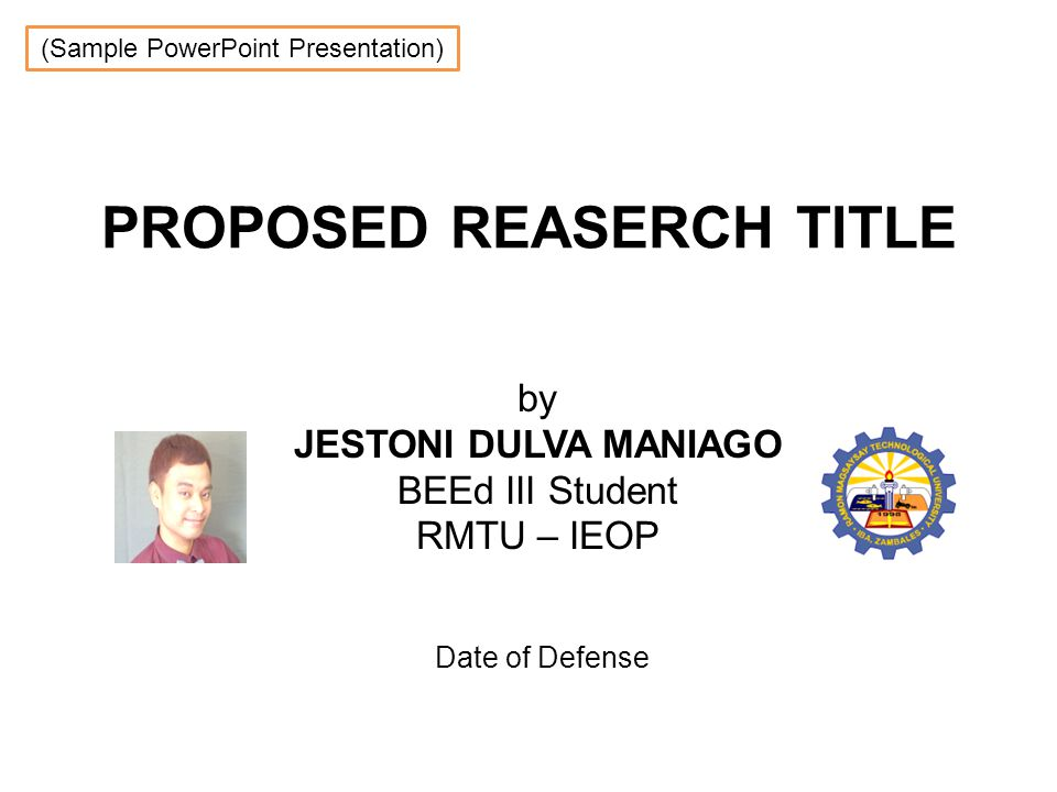 Dissertation Final Defense