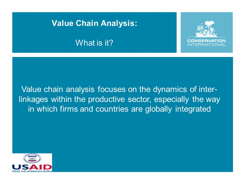 Value Chain Analysis: What is it.