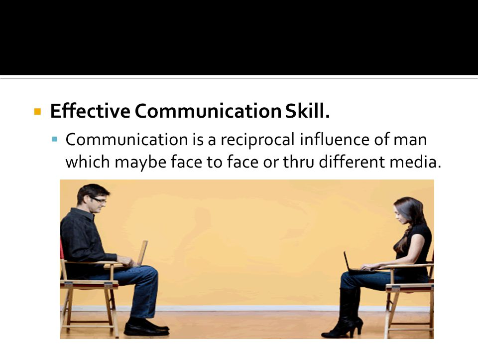  Effective Communication Skill.