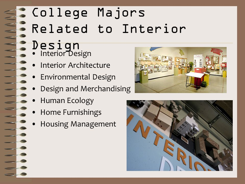 15 College Majors Related To Interior Design Architecture Environmental And Merchandising Human Ecology Home
