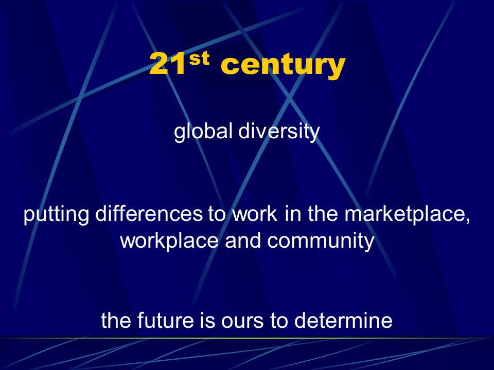 90 ' s work force diversity creating an inclusive work environment that values all employees platinum rule