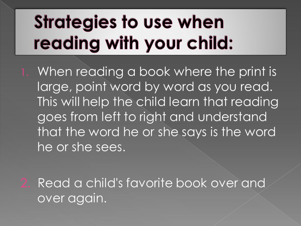 IT HAS BEEN PROVEN THAT CHILDREN LEARN TO READ BY READING!!.