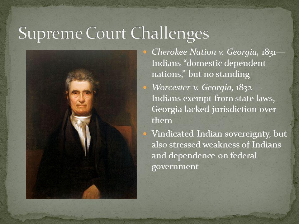 Cherokee Nation v.