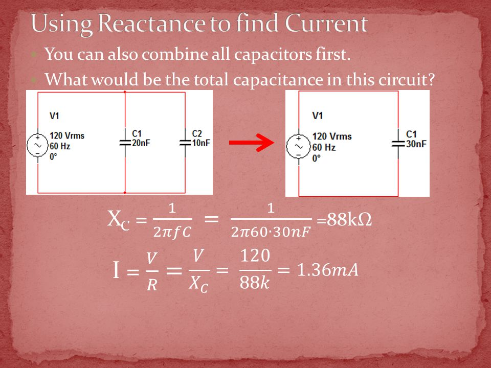 You can also combine all capacitors first. What would be the total capacitance in this circuit