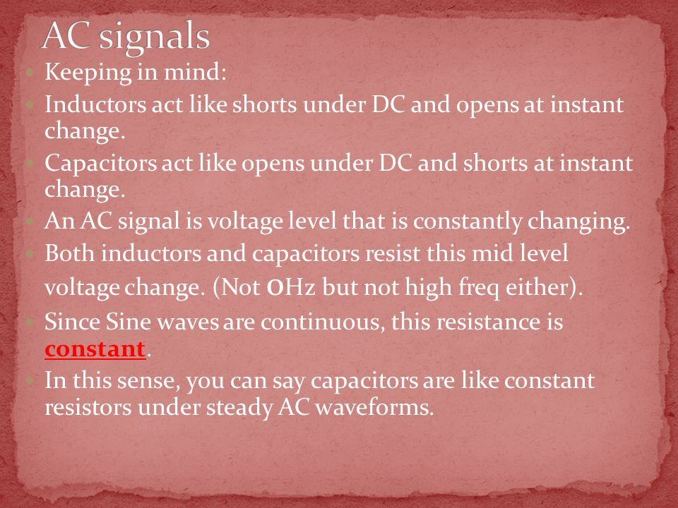 Keeping in mind: Inductors act like shorts under DC and opens at instant change.