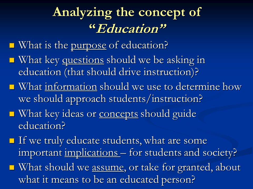 thinking in education essay