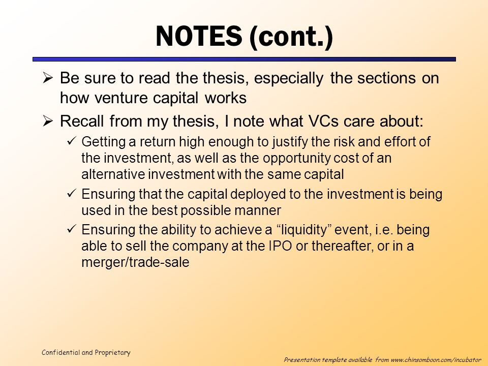 alternative investments thesis