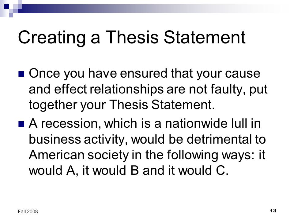 I need help writing a thesis statement about gasoline engines?