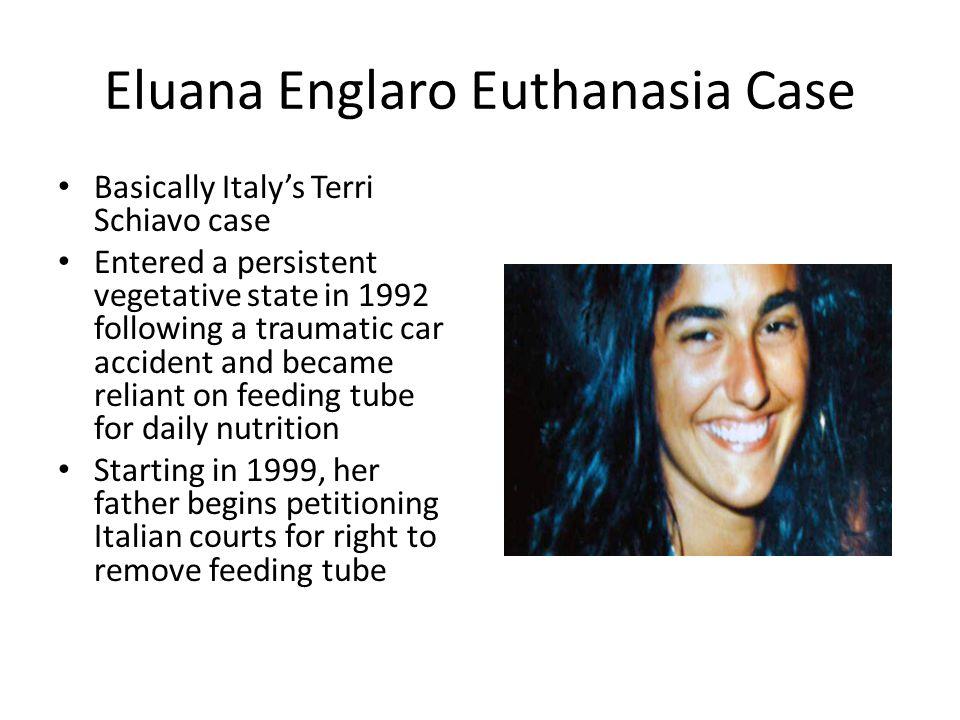 the terri schiavo case and euthanasia essay