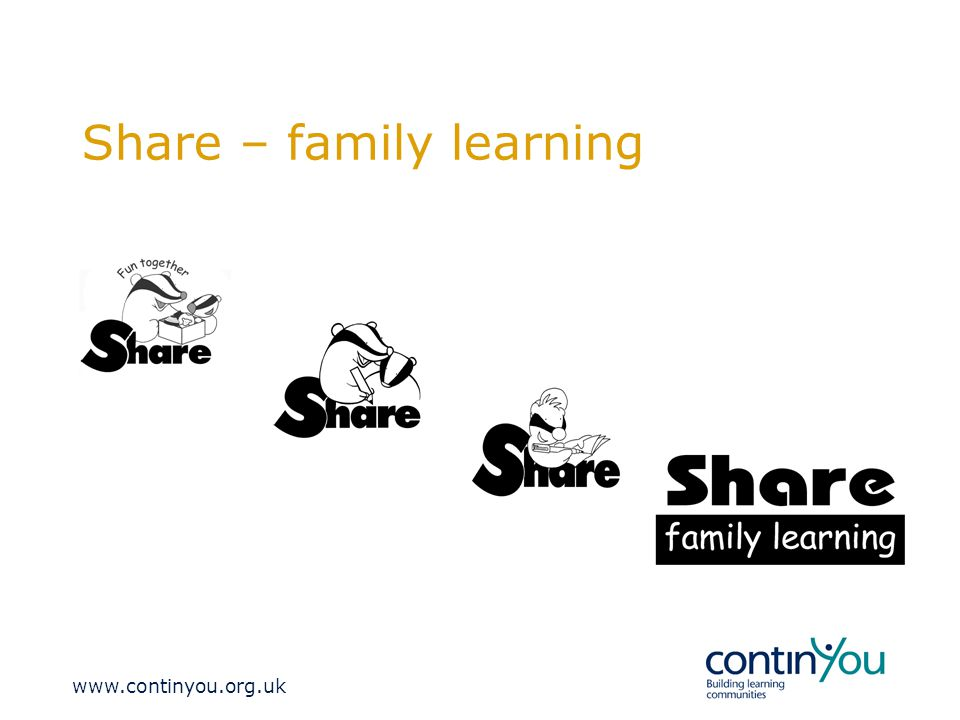 Share – family learning