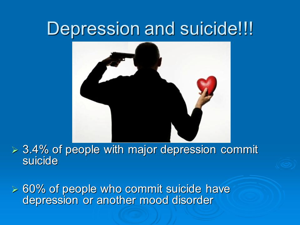 Depression and suicide!!.
