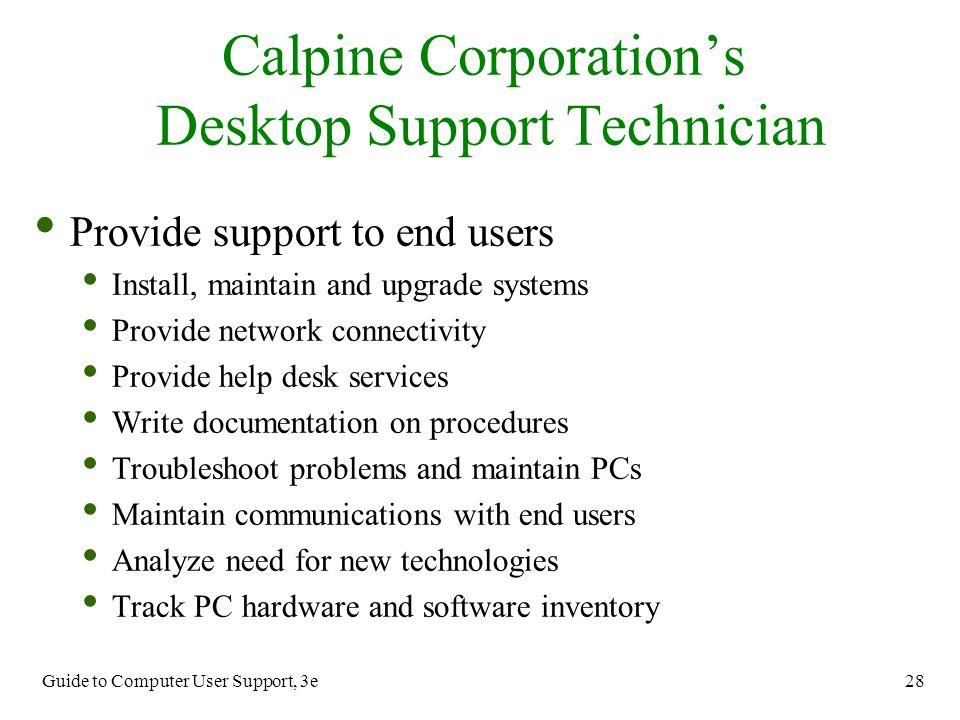 Help Desk Support Technician - Hostgarcia
