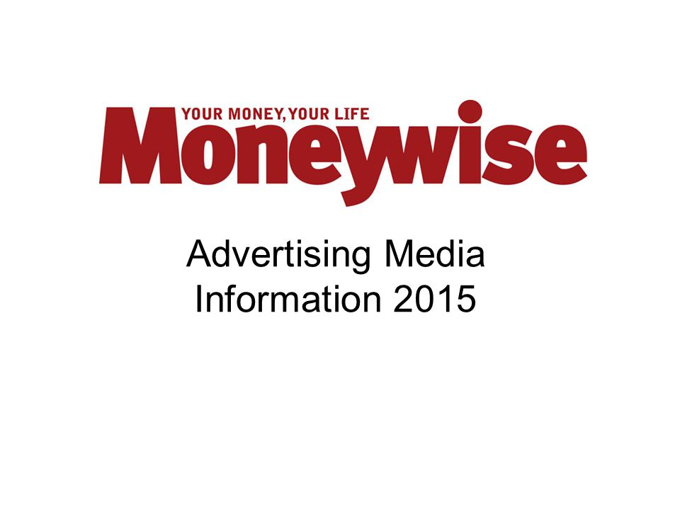 Advertising Media Information 2015