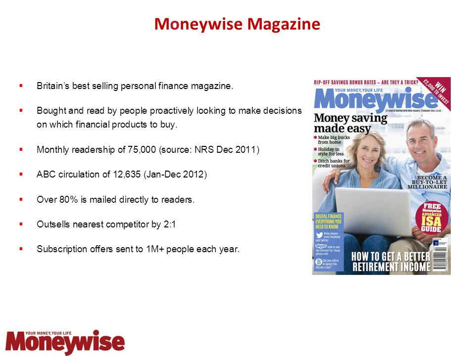 Moneywise Magazine  Britain's best selling personal finance magazine.
