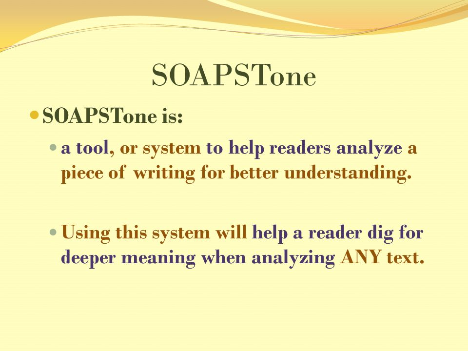write soapstone essay Johnson, brianna, english ii persuasive essay fill out the soapstone chart as they read from the ipad write an essay.
