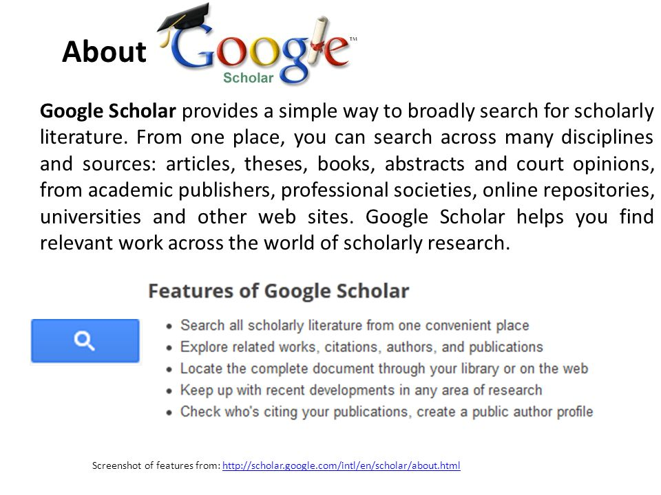Setting up a profile lrc information literacy series 7 google 2 google ccuart Image collections