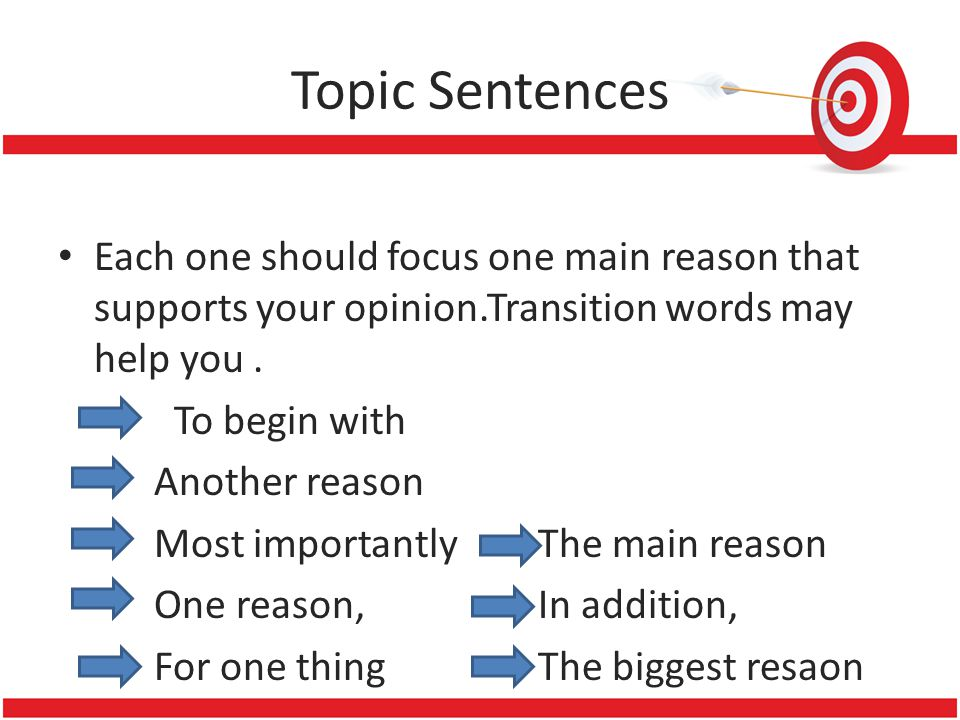 good transition word for persuasive essay How to write a persuasive essay a good persuasive essay will consider the use the last sentence of each body paragraph to transition to the.