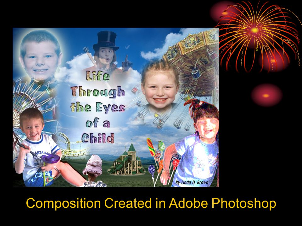 Composition Created in Adobe Photoshop
