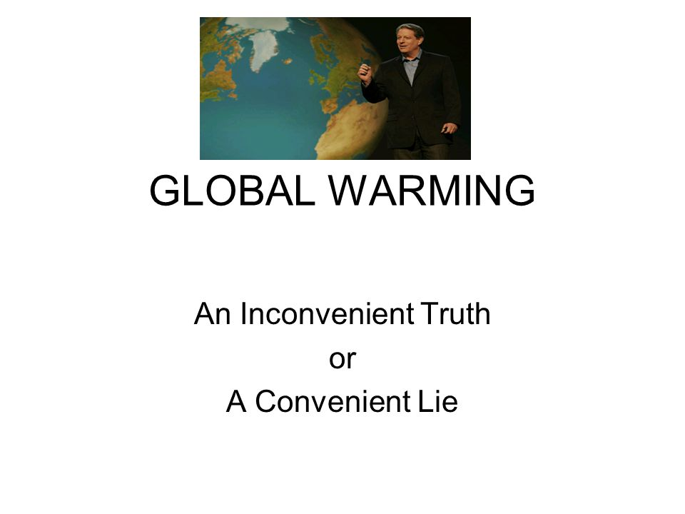 global warming presentation pdf