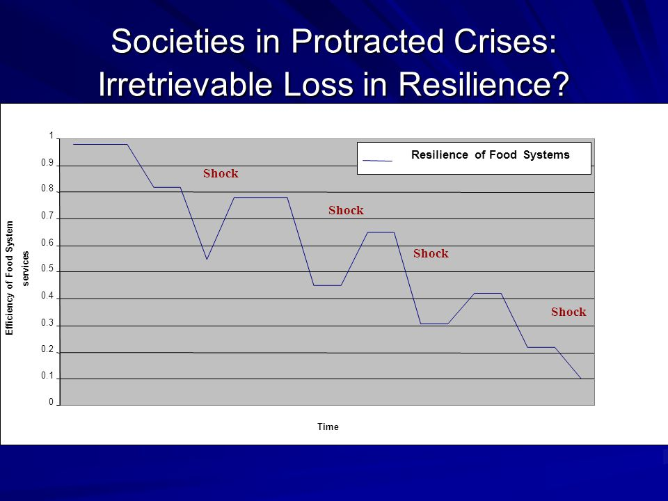 Societies in Protracted Crises: Irretrievable Loss in Resilience.