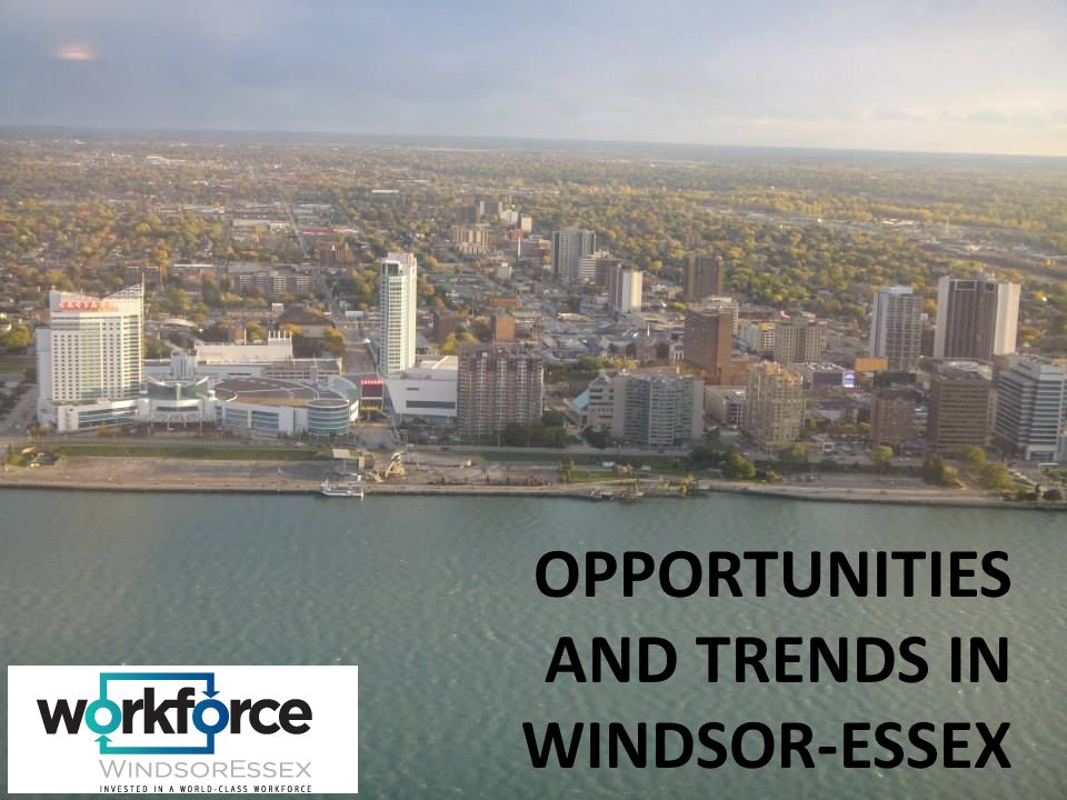 OPPORTUNITIES AND TRENDS IN WINDSOR-ESSEX