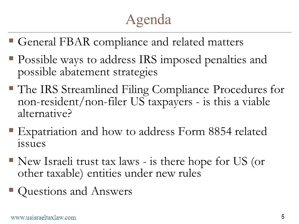 1 Fourth Annual Presentation Important Irs And International Tax