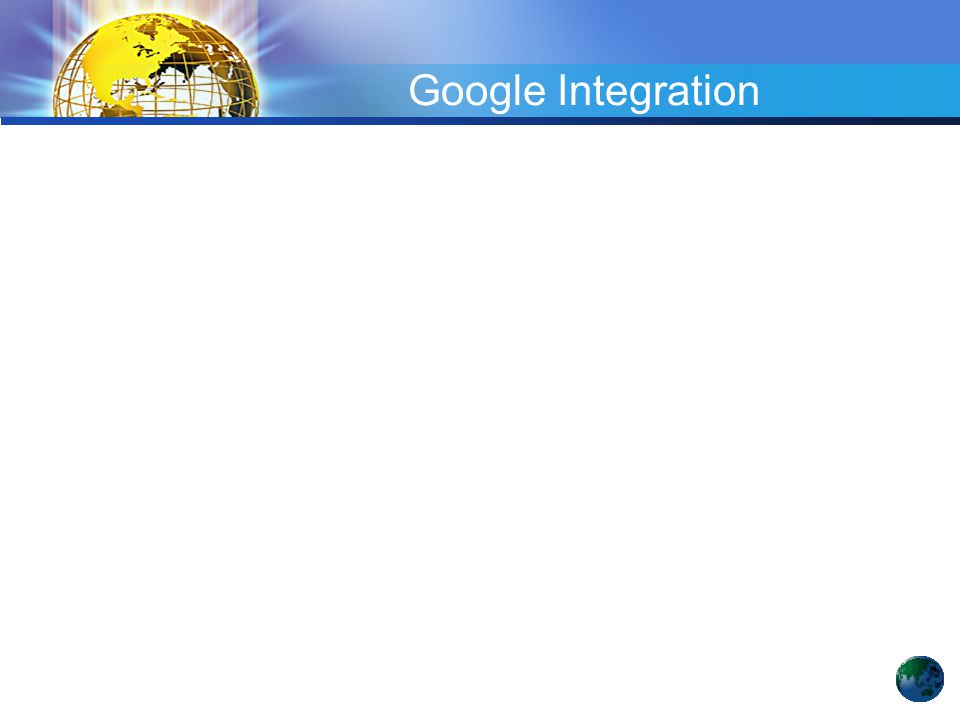 Google Integration
