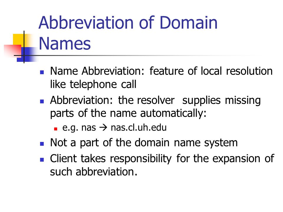 Compressed Name Format Domains are stored as a sequence of labels in a message.