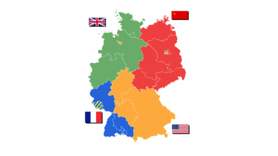 Ch 29 Europe and North America THE COLD WAR Map Activity – Divided Germany Map