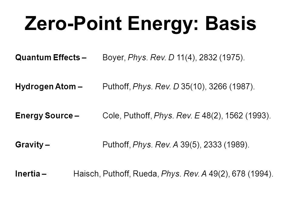 Quantum Effects – Boyer, Phys.Rev. D 11(4), 2832 (1975).
