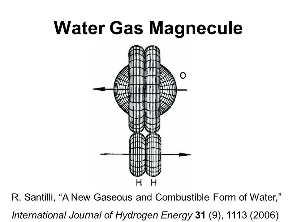 Water Gas Magnecule R.