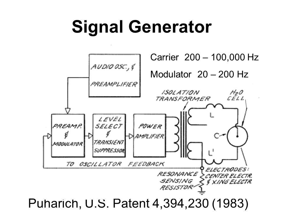 Signal Generator Puharich, U.S.