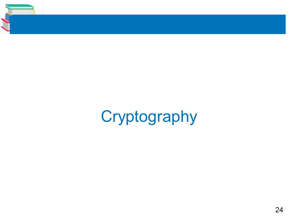 24 Cryptography