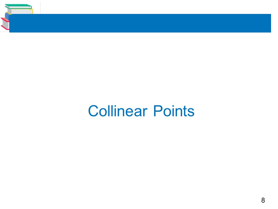 8 Collinear Points