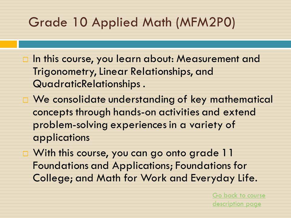 math worksheet : grade 10 math practice provincial exam  worksheets on study  : Applied Math Worksheets