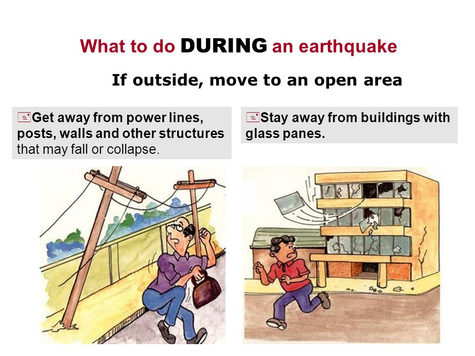 What One Should Do During An Earthquake Essay