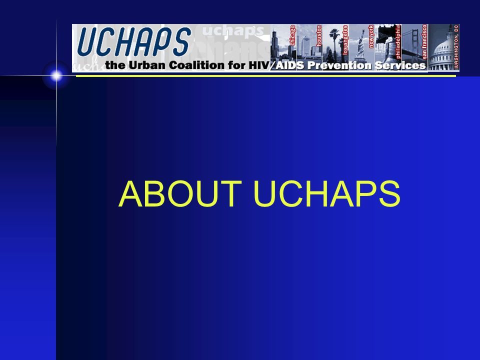 ABOUT UCHAPS