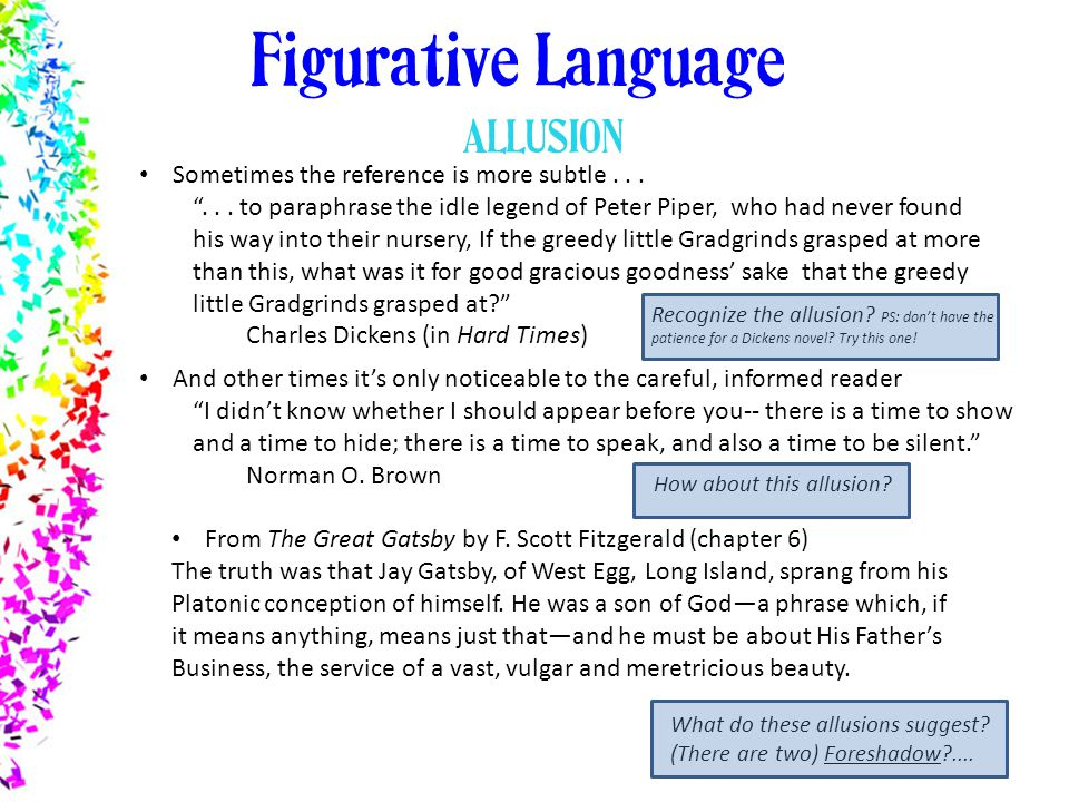 How does figurative language affect the meaning of a work?