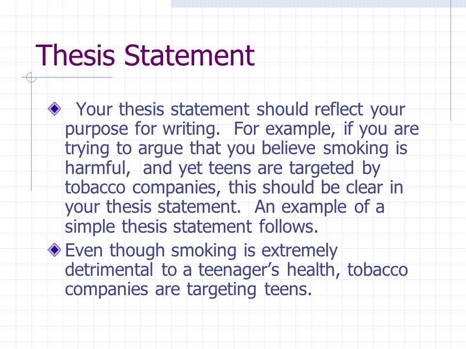 logical format for writing thesis and paper How to write your thesis your thesis should be clearly written and in the format described below first organize your paper as a logical argument before.