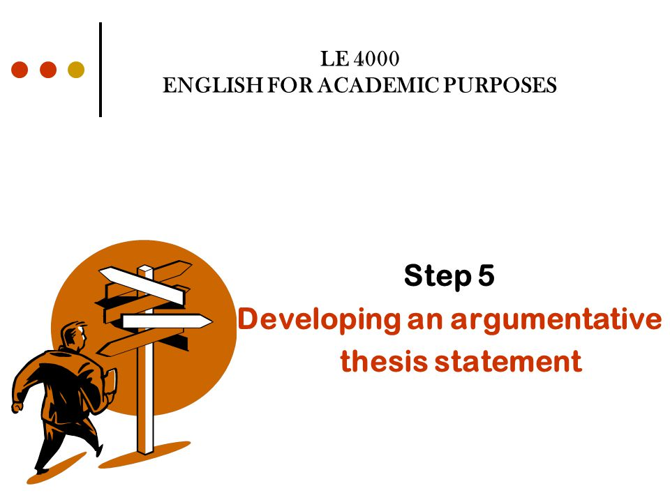 Where to put a thesis?