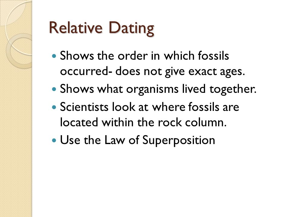 Scientists Can Use Relative Hookup To Calculate The Exact Age Of Fossils