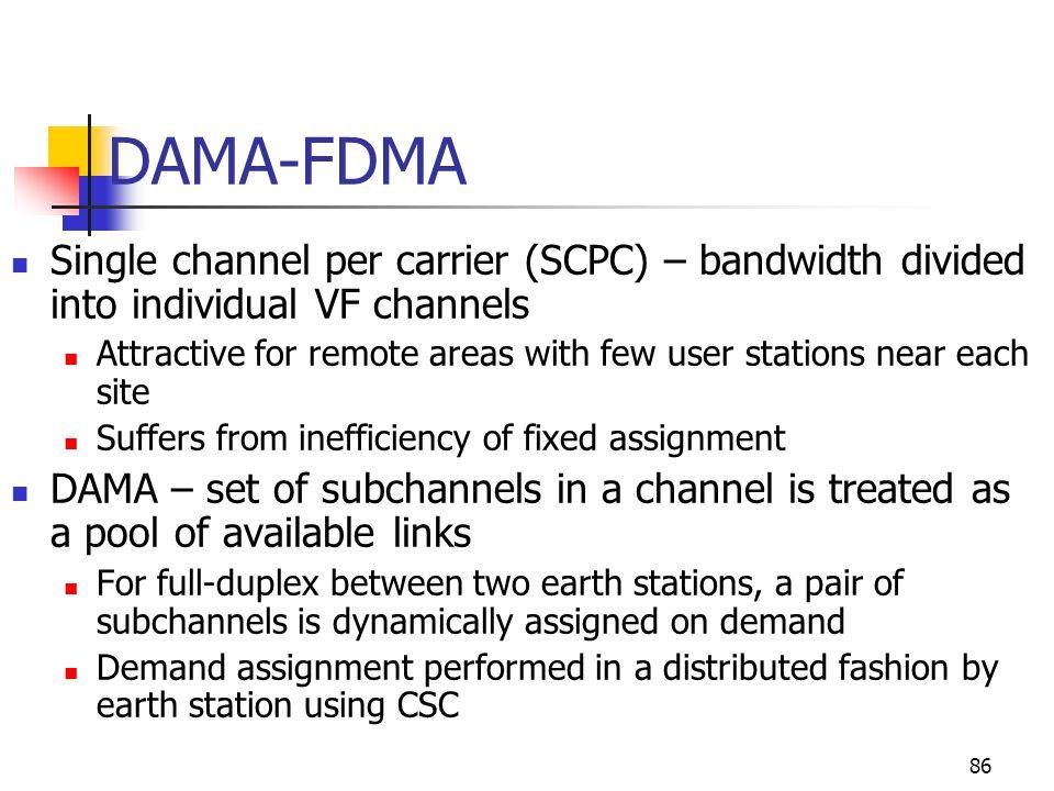 Demand assigned multiple access