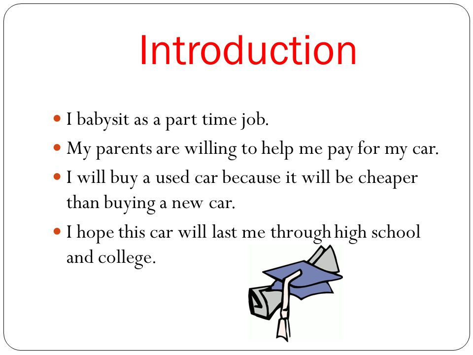 By: Amy Hoplamazian My Car. Table of Contents Introduction My Car ...