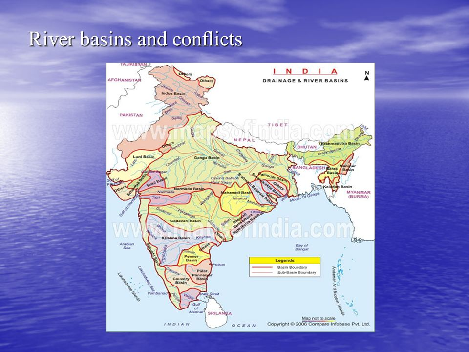 River basins and conflicts