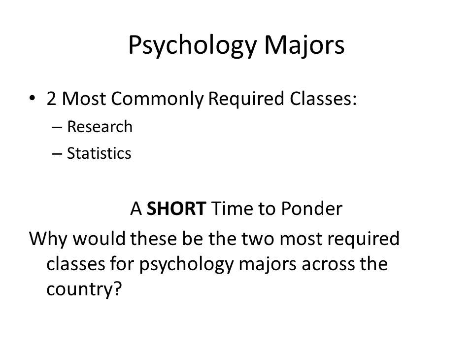 What classes do you have to take in high school to become a psychologist ?