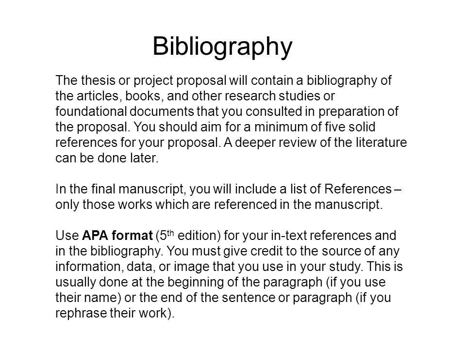 bibliography of thesis Thesis statements in literary analysis papers what can we anticipate that the author of this thesis will prove to us in the rest of the paper.