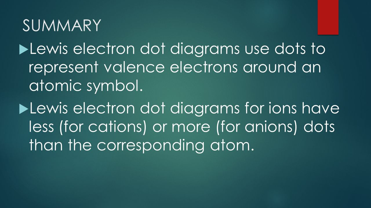 Aim how to write lewis dot structures electron dot structures summary lewis electron dot diagrams use dots to represent valence electrons around an atomic symbol pooptronica