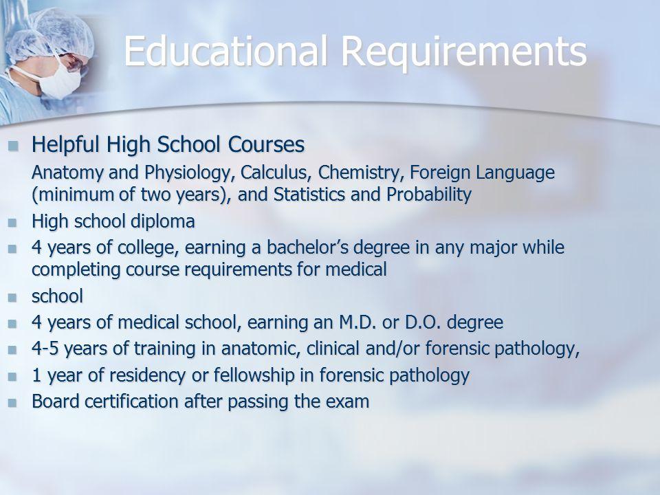 Forensic Pathologist Acheh Fonkem. Educational Requirements Helpful ...