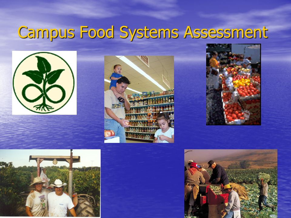 Campus Food Systems Assessment