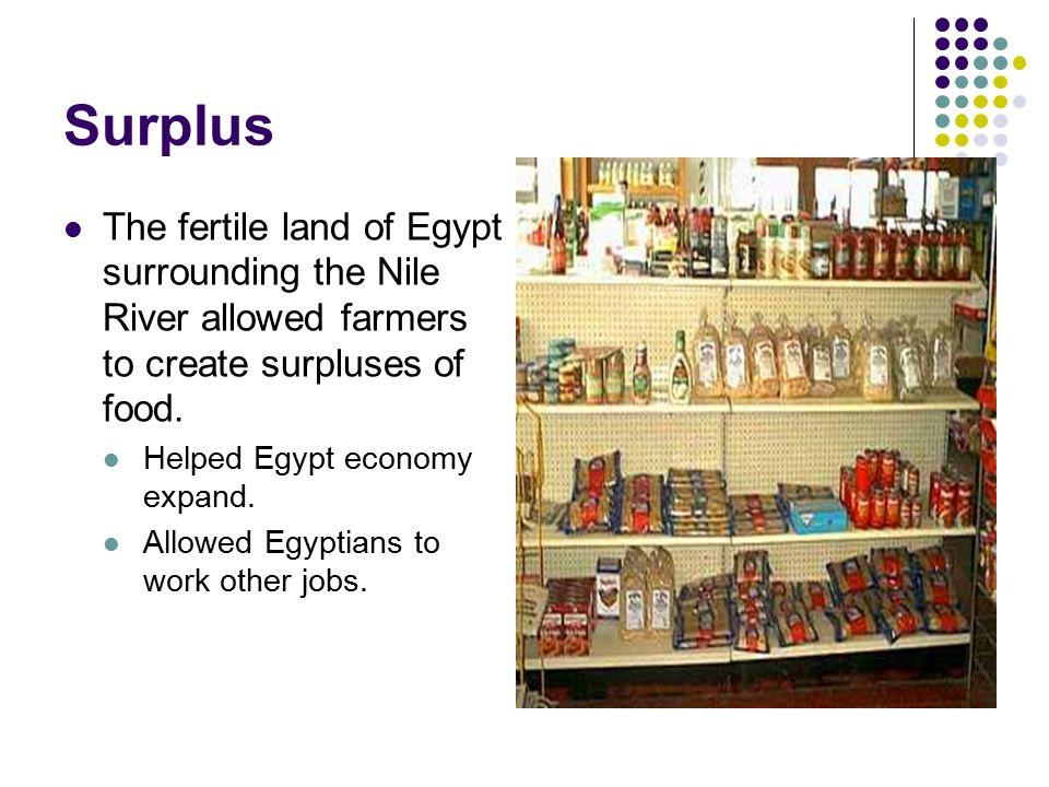 ancient egyptian economic surplus